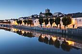 France, Western France, Charente-Maritime, Poitou-Charente, Saint-Savinien, dusk