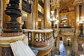 France,Paris, 9th district, Palais Garnier, Paris Opera, The Grand Staircase