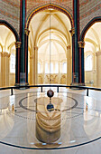 France,Paris, 3rd district, Museum of Arts and Crafts, Church of Saint Martin des Champs, Foucault's pendulum