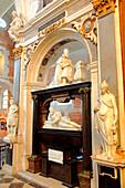 France, Haute Normandie, Seine Maritime (76), Eu, College of Jésuites chapel, duke of Guise mausoleum (henri de Lorraine)