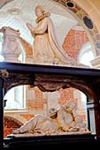 France, Haute Normandie, Seine Maritime (76), Eu, College of Jésuites chapel, duchess of Guise mausoleum (catherine de Cleves)
