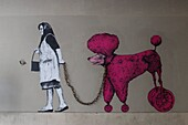 France, Paris, street art