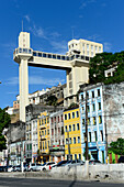 Lacerda Elevator in Salvador da Bahia, the city of the Holy Saviour of the Bay of all Saints on the northeast coast of Brazil , South America
