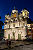 a church in Salvador da Bahia, the city of the Holy Saviour of the Bay of all Saints on the northeast coast of Brazil , South America