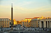 Roma, capital city of Italy, St Peter's basilica, Obelisk, Italy