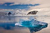 Gorgeous iceberg in the Gerlache Strait, Antarctica, Polar Regions
