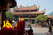 Baoan Temple in Taipeh, Taiwan, Republic of China, Asia