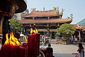 Baoan Tempel in Taipeh, Taiwan, Republik China, Asien