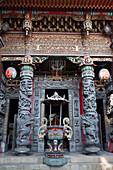 Chinesischer Tempel in Taipeih, Taiwan, Republik China, Asien