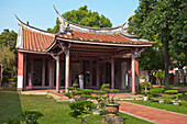 Konfuzius-Tempel in Tainan, Taiwan, Republik China, Asien