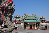Kaitai Tianhou Tempel in Anping bei Tainan, Taiwan, Republik China, Asien