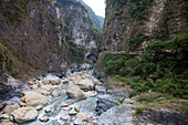Taroko bationalpark near Hualien, Taiwan, Republik China, Asia