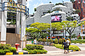 Bugis Street, Bugis Junction Shopping Mall, modern Architecture, Singapore, Asia