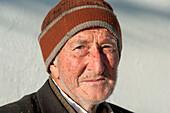 Farmer from Obernberg Valley, Stubai Alps, Tyrol, Austria