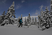 Ski tour in the Lesach Valley, East Tyrol, Austria