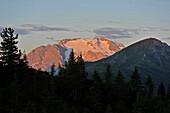 Mount Marmolada, The Queen of the Dolomites, Marmolada, Dolomites, South Tyrol, Italy