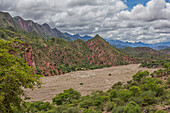 The colourful mountainous landscape of Toro Toro National Park, Bolivia