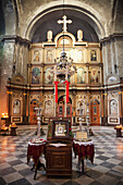 Iconostasis Of The Church Of St. Nicholas, Kotor, Montenegro