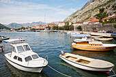 Boats In The Harbour, Kotor, Montenegro