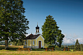 Maria Rast chapel, Kruen, near Mittenwald, Upper Bavaria, Bavaria, Germany