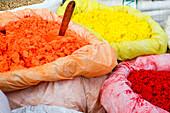 Color powder in Kathmandu, Nepal, Himalaya, Asien