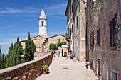 Santa Maria Assunta Cathedral, Pienza, Val d'Orcia Orcia Valley, UNESCO World Heritage Site, Siena Province, Tuscany, Italy, Europe