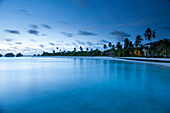 Evening beach, The Maldives, Indian Ocean, Asia