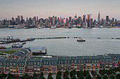 New Jersey, Hudson River, Midtown, Manhattan, New York, USA