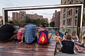 Highline Park, Chelsea, Manhattan, New York, USA