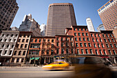 Waterstreet, financial district, Downtown, Manhattan, New York, USA