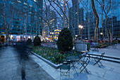 Bryant Park, 42nd street,  Midtwon, Manhattan, New York, USA