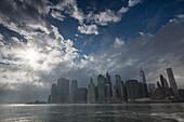 Skyline Downtown, new World Trade Center, Manhattan, New York, USA