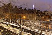 Highline Park, Chelsea, Manhattan, New York, USA