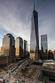 Downtown, new World Trade Center, World Financial Center, Manhattan, New York, USA