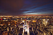 View from Empire State Building, Midtown, Manhattan, New York, USA
