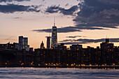 East River, Downtown, World Trade Center, Manhattan, New York, USA