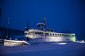 SS Keno, a preserved historic sternwheel paddle steamer, Dawson City, Yukon, Yukon Territory, Canada