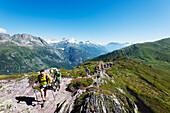 Chamonix trail running marathon, Chamonix, Rhone Alps, Haute Savoie, French Alps, France, Europe