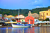 Gaios Harbour, Paxos, The Ionian Islands, Greek Islands, Greece, Europe