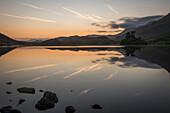 Creggenan Lake, North Wales, Wales, United Kingdom, Europe