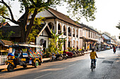 Typical street sscene, Luang Prabang, Laos, Indochina, Southeast Asia, Asia