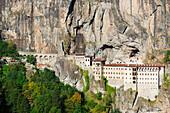 Sumela Monastery, Greek Orthodox Monastery of the Virgin Mary, Black Sea Coast, Trabzon Province, Anatolia, Turkey, Asia Minor, Eurasia