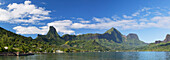 Cook's Bay, Moorea, Society Islands, French Polynesia, South Pacific, Pacific