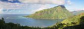 Opunohu Bay, Mo'orea, Society Islands, French Polynesia, South Pacific, Pacific