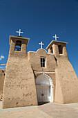 San Francisco de Asis Mission Church, National Historic Landmark, established 1772, Ranchos de Taos, New Mexico, United States of America, North America