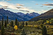 The landscape along the South Canol Road, Yukon, Canada