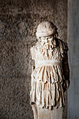 Statue of sleeping Silenus, Ancient Agora Museum, Athens, Greece