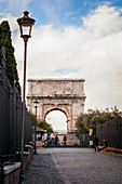 Arch of Titus, Rome, Italy
