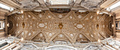 Detail of ceiling in St. Peter's Basilica, Vatican City, Rome, Italy