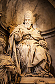 Statue, St. Peter's Basilica, Rome, Italy